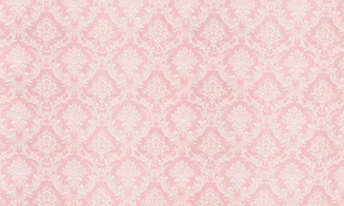 AOSTO 8x7ft Pink Damask Background for Party Decoration Vinyl Photography Backdrop Photo Booth FF-080-0 -