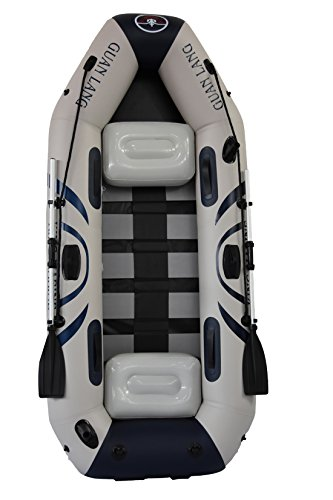 8.7ft Inflatable Boat with Multi Air Chambers and Slat (Slats Inflatable Boat)