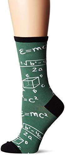 Socksmith Women's Math Green 1 Sock