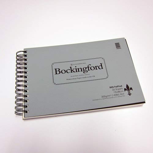 Watercolour Paper Bockingford Fat Pad 140lb 300gms 7.5x11    19x28cm Not Surface B00699H1VW | München