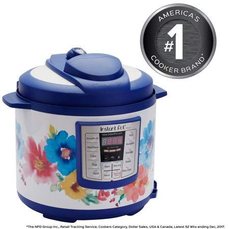 Pioneer Woman Instant Pot 6qt 6 Quart Programmable Pressure Cooker Slow Electric Multi Use Rice Saute Cooking Steamer Warmer by Home Joy (Image #9)
