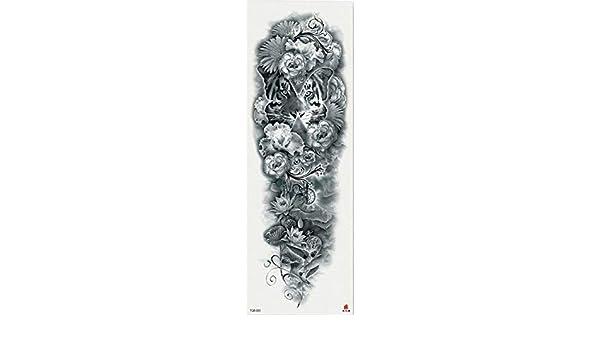 7pcs Tigre del tatuaje pieza pieza de pintura chino Dragón Nube ...