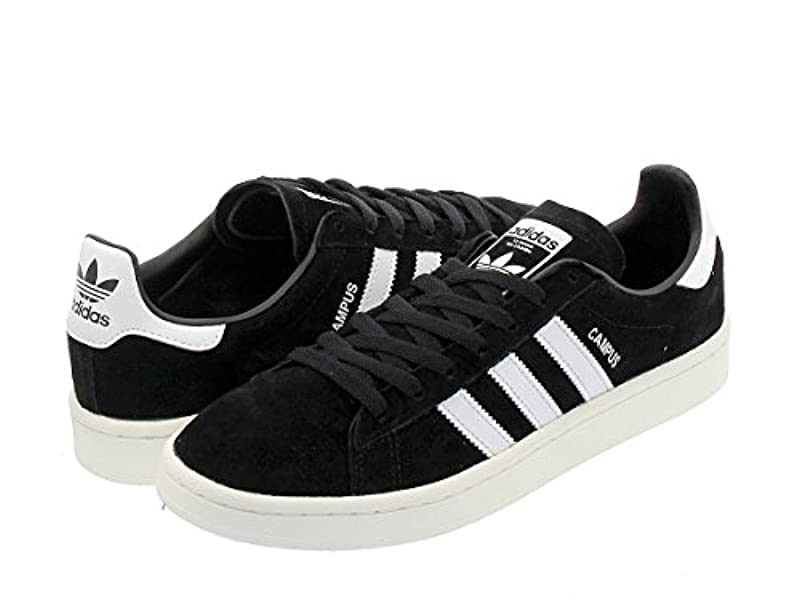 adidas CAMPUS CORE BLACK / RUNNING CHALK WHITE Originals