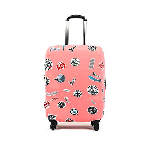 Elastic Luggage Protective Cover Suitcase Protector Carry-on and Checked-in Size (Small,