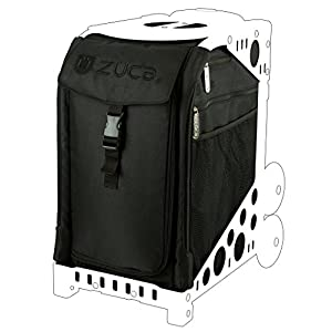 ZUCA SIBS236 Sport Insert Bag Stealth Black Logo Embroidery in Black / 89055900236