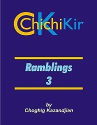 Ramblings 3