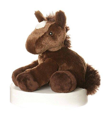 8 Brown Mini Flopsie Chestnut Horse Soft Toy by DSK
