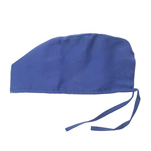 Opromo Women's Men's Sweatband Scrub Cap Scrub Hat Adjustable -