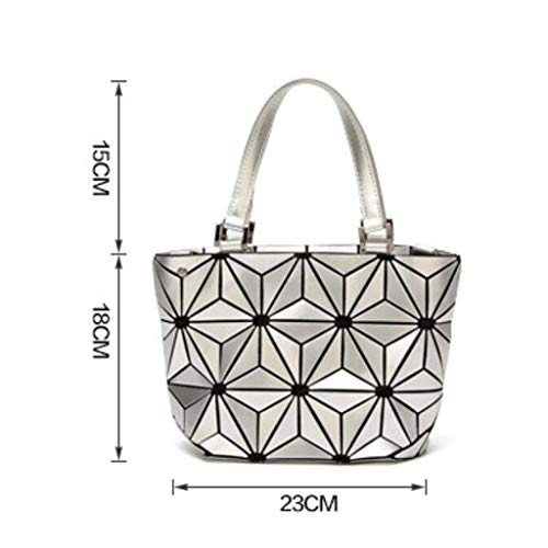 Daypack Di Fashion Selvaggio Capienza Tracolla Borsa Dimensioni Nero Grande Donne 18cm Pu 23 Delle colore Bianca AqqxSHwTn