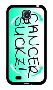 Cancer Sucks 2-Piece Dual Layer Phone Case Back Cover Samsung Galaxy S4 I9500