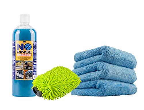 Optimum No Rinse Wash & Shine – 32 oz. Kit