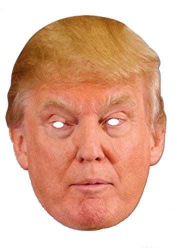 Nicky Bigs Novelties Donald Trump Mask Halloween President Candidate Poster Paper Face Mask