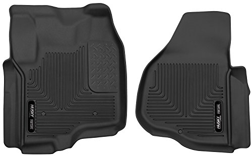 Husky Liners Front Floor Liners Fits 12-16 F250/F350 Crew (F250 F350 Crew Cab)