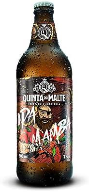 CERVEJA FORTE ESCURA IPA (MAMBA) Cervejaria Quinta do Malte 600 ml
