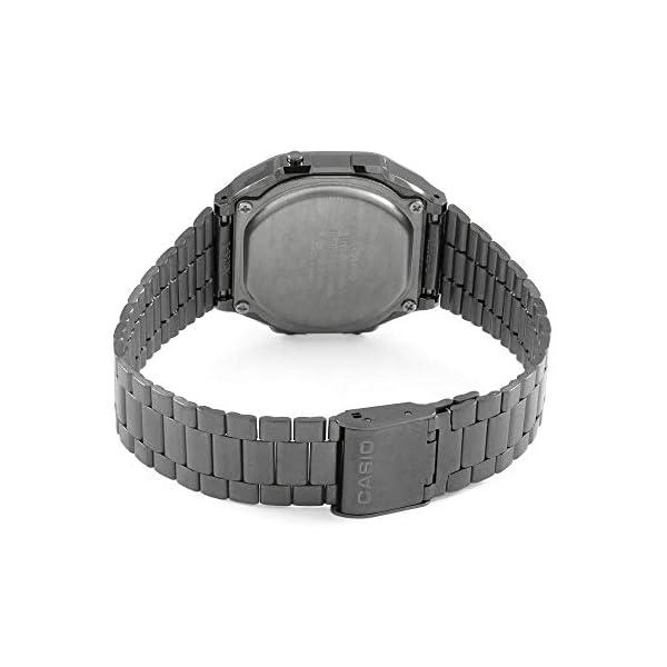 Casio Hommes Digital Quartz Japonais Montre avec Bracelet en Acier Inoxydable A168WEGG-1BEF