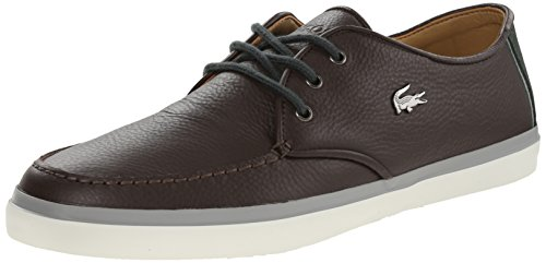 Lacoste Mens Sevrin 8 Fashion Sneaker Dark Brown 10.5 M US