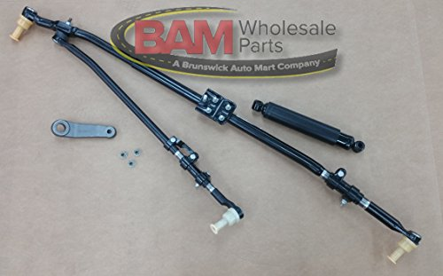 Arm Mopar Pitman - 2003-2012 Dodge RAM 2500 3500 Steering Drag Link Damper Pitman Arm Upgrade Full Kit Mopar