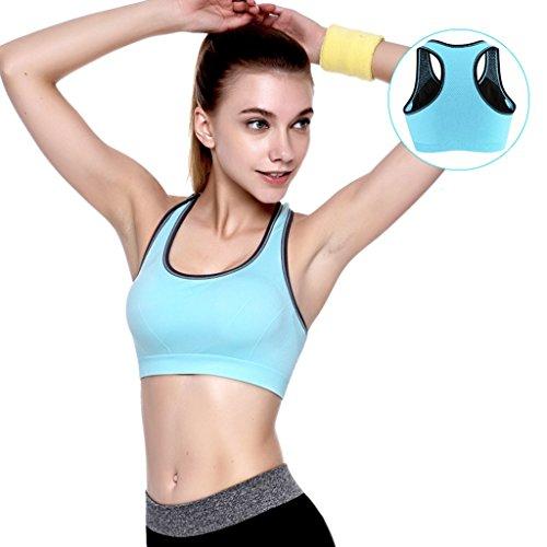 Sports Underwear Shockproof Correr Fitness Vest Mujer Reúna Juntos Sección Yoga Yoga No Trace No Rims Bra ( Color : #4 , Tamaño : 85D )
