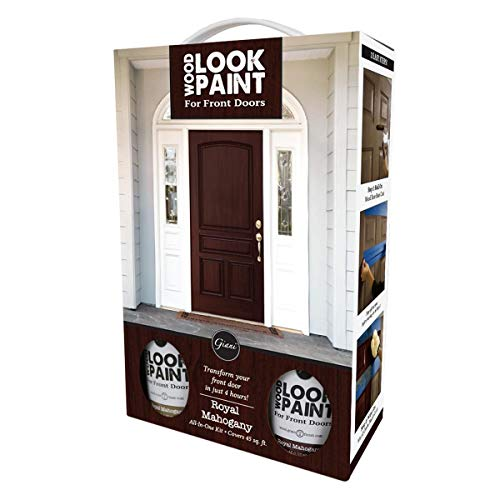 Giani Wood Look Paint Kit for for Front & Interior Doors (Royal Mahogany)