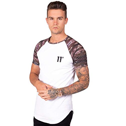 White Degrees 11 T Homme shirt Blanc camo BPFqFS7