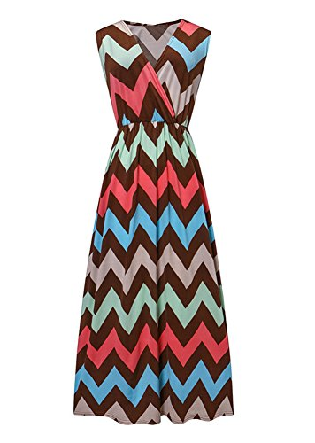 Femme Trapze PIN LATH Robe Multicolore vzxCxn0p