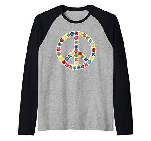 - Peace Sign Shirt Peace Symbol  Raglan Baseball Tee