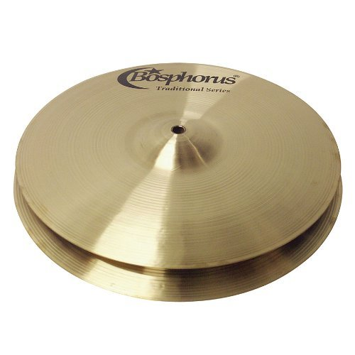 Bosphorus Cymbals T15HB 15-Inch Traditional Series Hihat Cymbals Pair [並行輸入品]   B07MB45ZK4