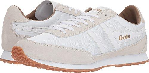Gola Men Footwear Sneakers - Gola Men's Flyer Sneakers | White/Gum - 12
