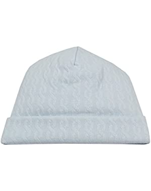 Baby Boys Cable Couture Jacquard Hat