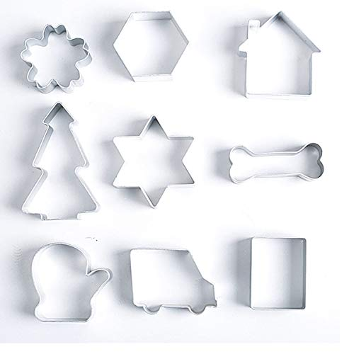 CHAMPURE Halloween Trick Chirstmas or Treat Cookie Cutter