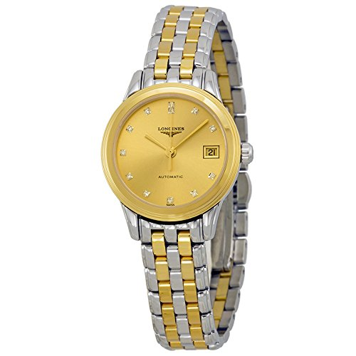 Longines La Grande Classique Two Tone Stainless Steel Ladies Watch L42743377 by Longines