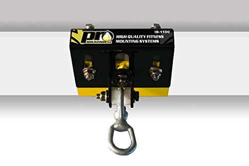PRO Mountings - I Beam Heavy Bag & Punching Bag Mount (IB-1100) | Adjustable Between 4