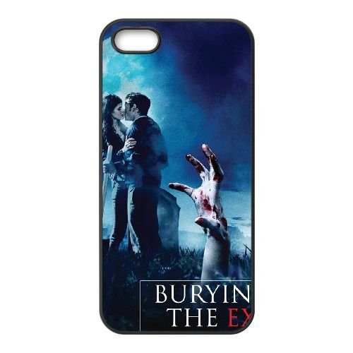 Burying The Ex coque iPhone 5 5S cellulaire cas coque de téléphone cas téléphone cellulaire noir couvercle EOKXLLNCD22605