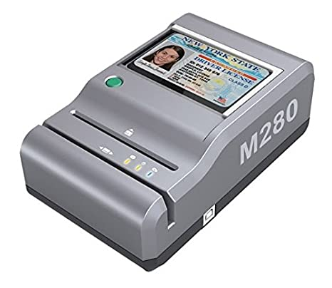 E-Seek M280 ID Reader - USB Flatbed Scanner & 2D Barcode Reader For Desktop