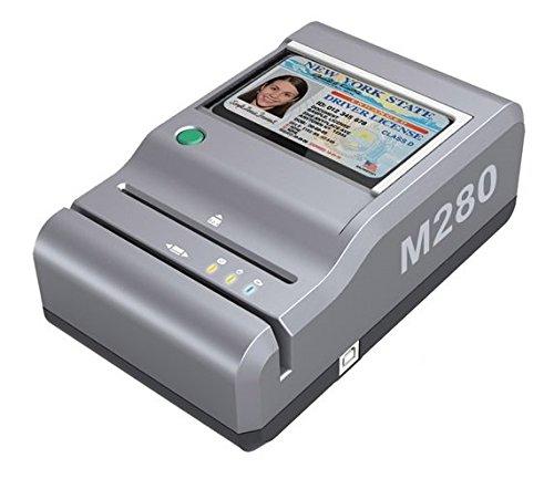 E-Seek M280 ID Reader - USB Flatbed Scanner & 2D Barcode Reader For Desktop by ESeek