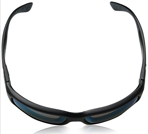 Costa Del Mar Sunglasses - Fantail- Plastic / Frame: Black Lens: Polarized Green Mirror 580P Polycarbonate