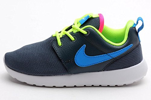 f0eb0feb64d6f Nike Preschool NIKE ROSHERUN (PS TD) DK MAGNET GREY VOLT WHITE PHOTO BLUE  645778-013 12c - Buy Online in UAE.