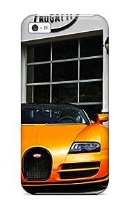 New Style Tpu 5c Protective Case Cover/ Iphone Case - Bugatti Veyron Vitesse
