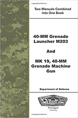 40 Mm Grenade Launcher M203 And MK 19 40 Mm Grenade Machine