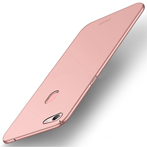 OPPO F5 Back Cover Case - Ultra Slim PC Protective Shell Hard Shield Back Cover for OPPO F5 - Pink