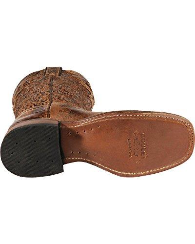 Stivali Americani - Gli Stivali Da Cowboy: Cowboy In Pelle Di Serpente Stivali-bo-2106 - 65 C (piede Normale) - Donne - Marrone