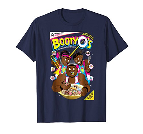 (WWE The New Day Booty O's Cereal Graphic T-Shirt)