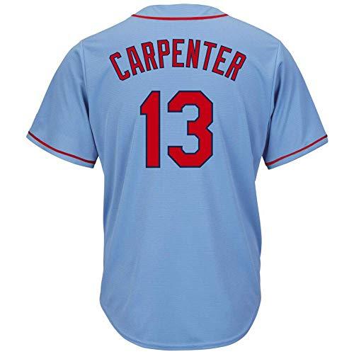 Men's/Women/Youth_Cardinals_Matt_Carpenter_#13_Light Blue_Alternate_Cool_Base_Player_Jersey