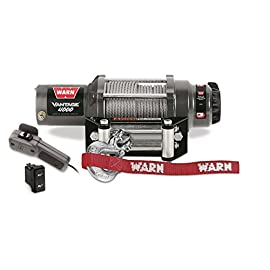 WARN 89040 Vantage 4000 Winch – 4000 lb. Capacity