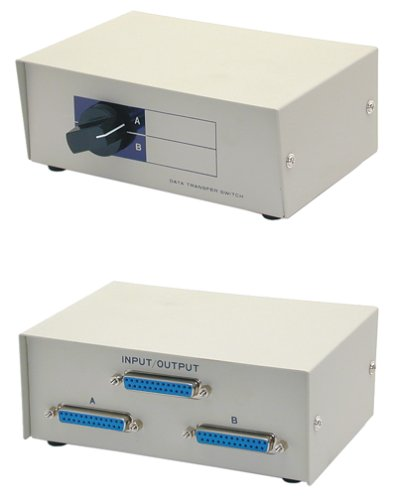 2port Manual Switchbox Db25 (Db25 Box Manual Switch)