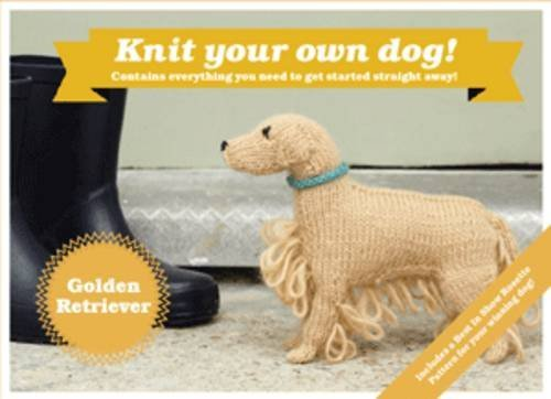 Best in Show: Golden Retriever Kit: Knit Your Own Dog by Sally Muir (2-Jan-2014) Paperback (Best In Show Knit Your Own Dog)