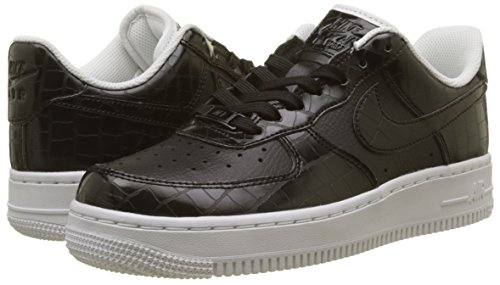 Air Scarpe Force Ginnastica Nero black Da Ess Donna '07 white 001 Wmns 1 Nike Basse black UgxY5