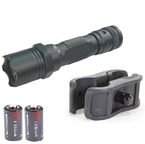 MAKO GMG Global Military Gear 130+ Lumens L.E.D Flashlight LED Tactical - Light Kit For Mossberg 500/590/835/Maverick 88 12/20 Gauge Shotgun Light Kit Includes: GM-SGC Barrel/Mag Tube Light Clamp
