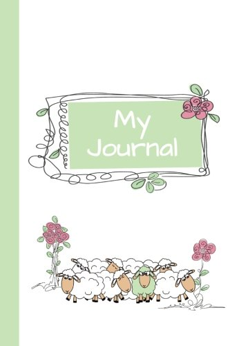 My Journal: Sheep (Green) 6x9 - GRAPH JOURNAL - Journal with graph paper pages; square grid pattern (Baby Animals Graph Journal Series)