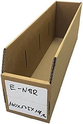 Visión 15 x Caja de cartón Almacenamiento Caja Box apilables Buzón ...